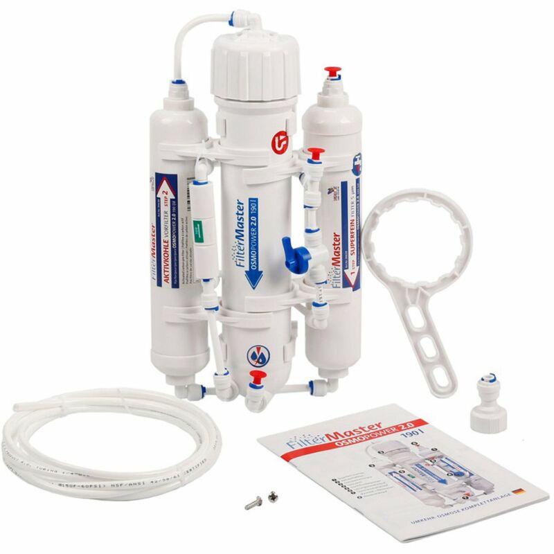 Fordított ozmózis vízlágyító